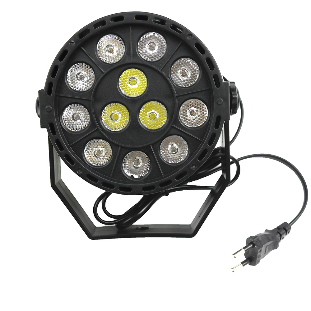 LED Par Light Stage lighting Moving Head Light 12 x 1W LED High Powe Light RGBW mixing color  for Music DJ Disco Party Show Bar niugul dmx stage light mini 10w led spot moving head light led patterns lamp dj disco lighting 10w led gobo lights chandelier