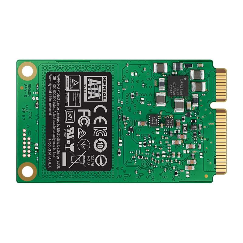 Samsung 860 EVO MSATA 250G SSD SATA Solid State Drives For Laptop Desktop ( MZ-76E250B ) pearl 250g