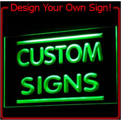 tm Custom LED Neon Light Sign Order (Design your own light) Wholesale Dropshipping On/ Off Switch 7 Colors DHL ...
