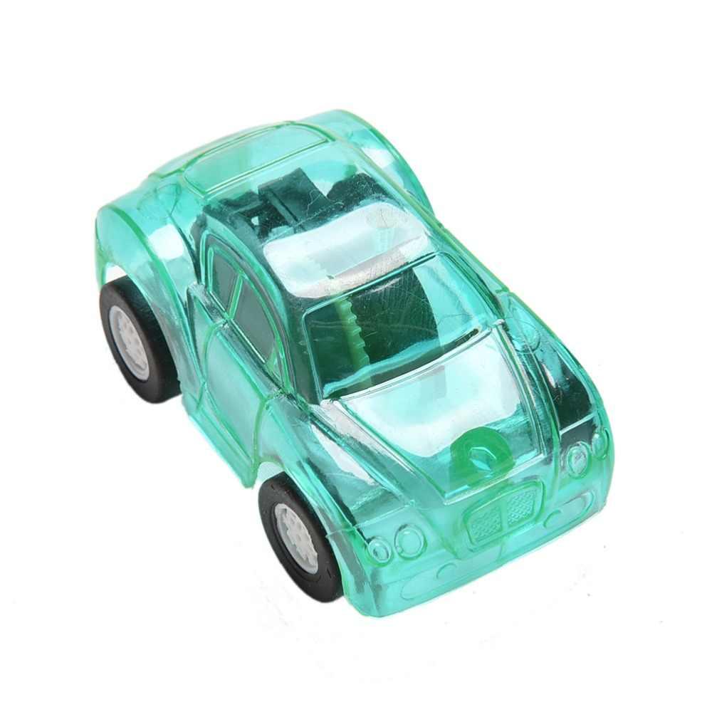 Tarik Kembali Mobil Permen Warna Plastik Lucu Mobil Mainan untuk Anak Mini Model Mobil Mainan Anak-anak untuk Anak Laki-laki