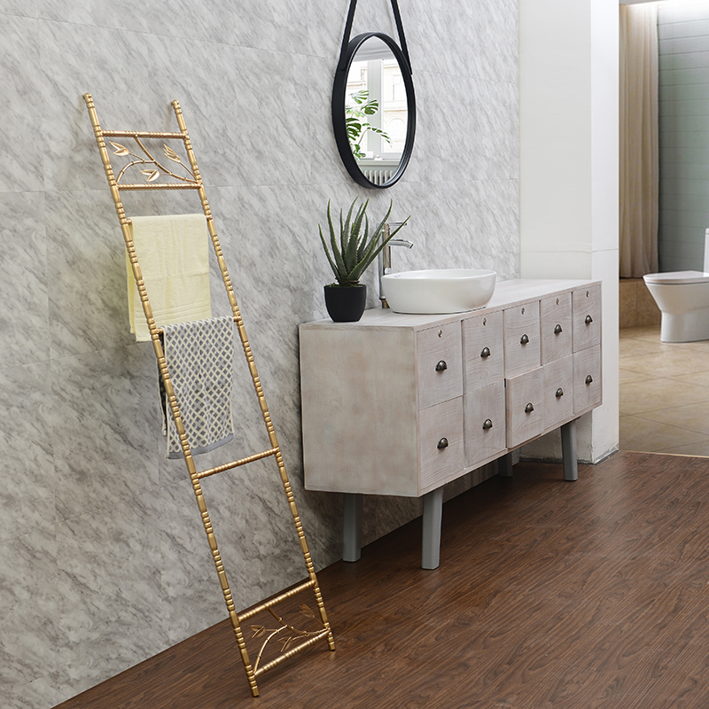 Towel Rack Multi Arms Towel   Movable Towel Bars Bathroom Products Ladder Towel Rack