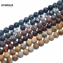 9 Style Natural Stone Beads Rose Quartzs Crystal Agates For Jewelry Making DIY Bracelet 4/6/8/10/12 MM Strand 15