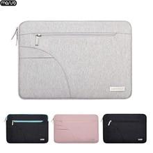 Сумка для ноутбука MOSISO, водонепроницаемая сумка на молнии для Lenovo 11 12 13 14 15 15,6 дюйма, чехол для MacBook Pro 13 15