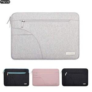 Image 1 - Сумка для ноутбука MOSISO, водонепроницаемая сумка на молнии для Lenovo 11 12 13 14 15 15,6 дюйма, чехол для MacBook Pro 13 15