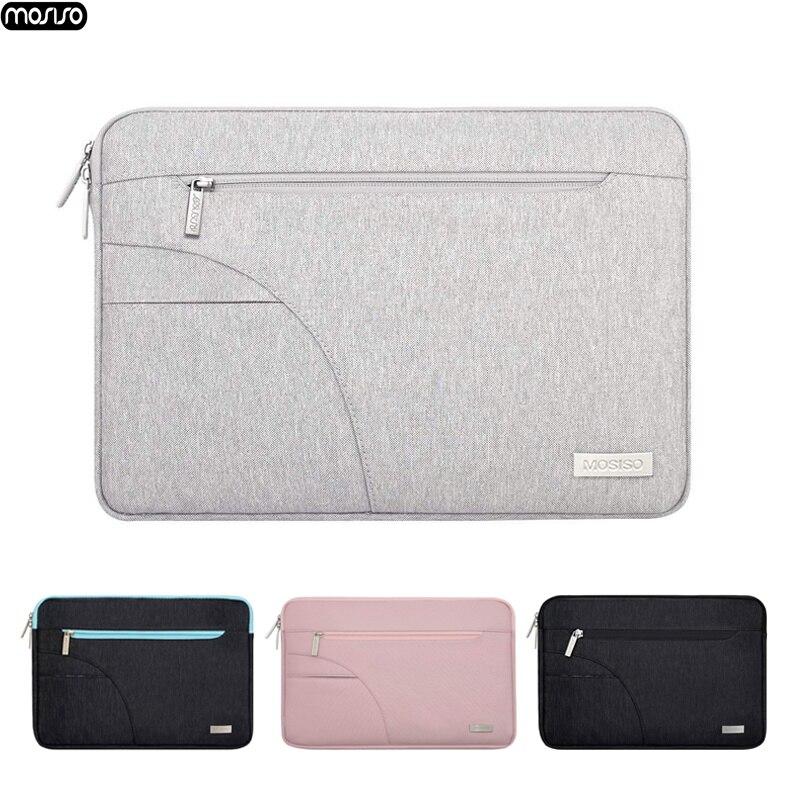 MOSISO новая сумка для ноутбука MacBook Pro 13 15 чехол водостойкий сумка для ноутбука для lenovo 11 12 13 14 15 15,6 дюймовая молния сумка-in Сумки и чехлы для ноутбука from Компьютер и офис