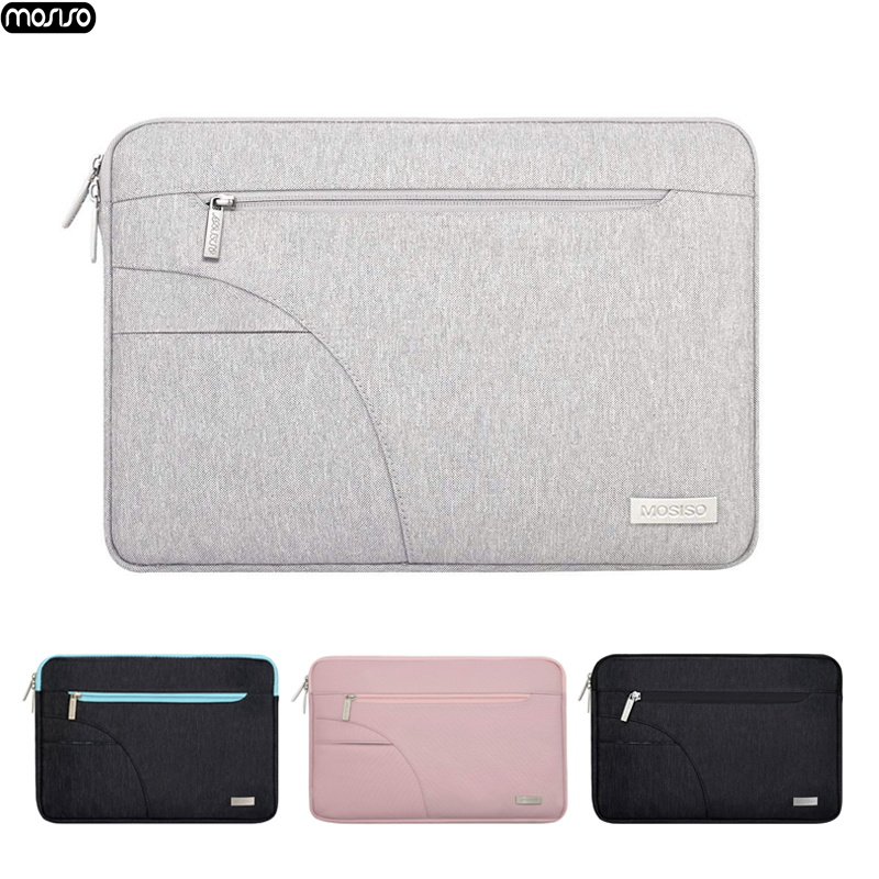 MOSISO New Laptop Bag for MacBook Pro 13 15 Case Waterproof Notebook Sleeve Cover for Lenovo 11 12 13 14 15 15.6 inch Zipper Bag-in Laptop Bags & Cases from Computer & Office