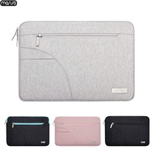MOSISO New Laptop Bag for MacBook Pro 13 15 Case Waterproof Notebook Sleeve Cover Lenovo 11 12 14 15.6 inch Zipper