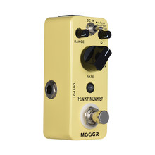 New arrival MOOER FUNKY MONKEY Auto Wah Guitar Effect Pedal 3 Peak Modes True Bypass Full Metal Shell(China)