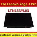 "free shipping new LTN133YL03-L01 Laptop lcd led screen 13.3"" notebook led display yoga 3 pro display screen"