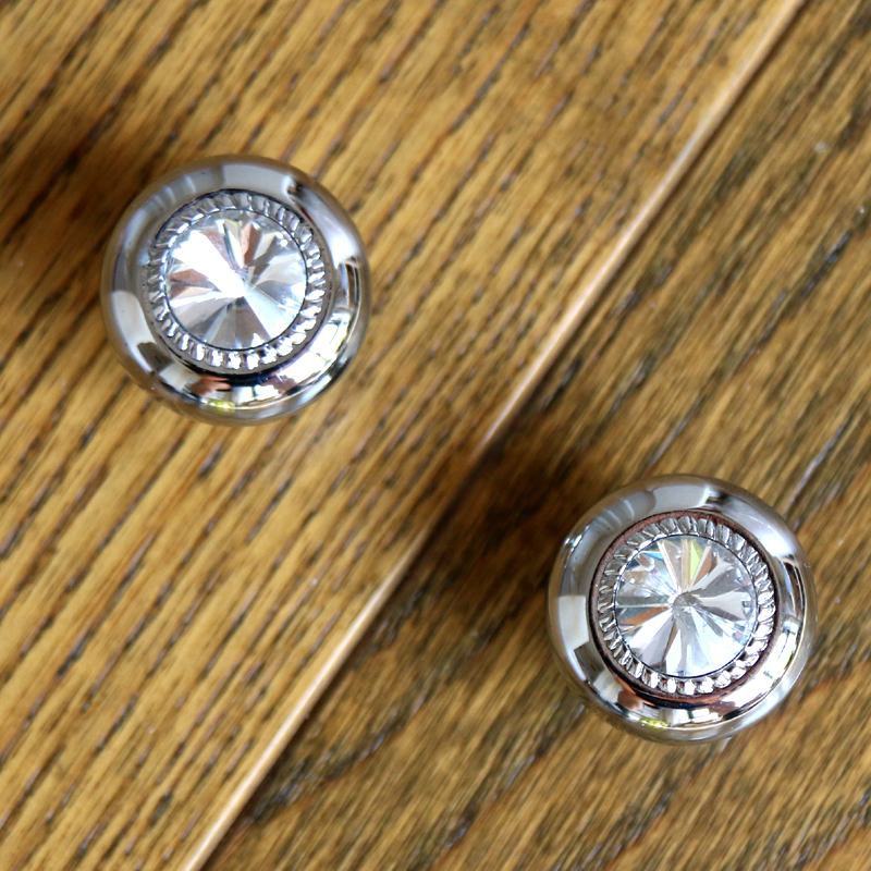 Clear Crystal Diamond Kitchen Cabinet knobs Crystal Drawer Knobs ...
