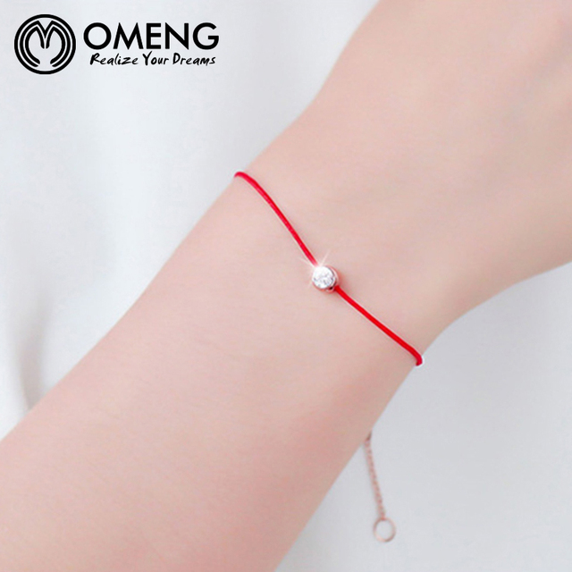 2017 Fashion Thin Thread String Rope Red Line Bracelets For Women Bijoux Fine Jewelry