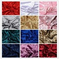 stretch elastic velvet fabric For DIY sofa cover,a dress,curtain,pillowcases ,clothes decoration 1 meter