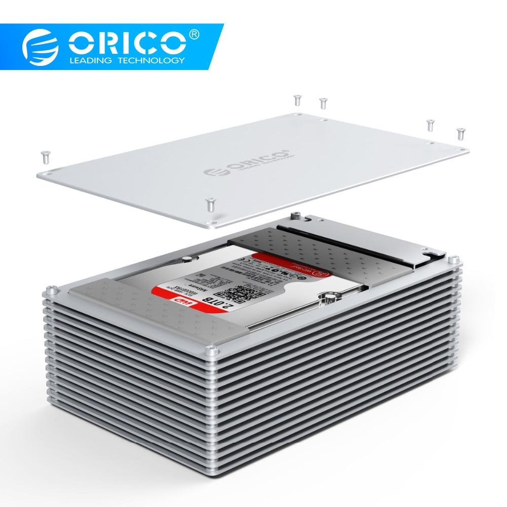 ORICO HDD Case Type C DIY Hollow 2 5 3 5 Inch Hard Drive Enclosure Aluminum