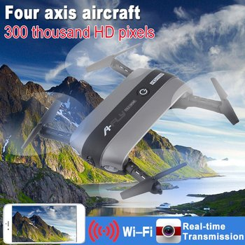 Mobile Cell Phone Control Drone Foldable Quadcopter 360 Degree Rotation 0.3 Million WiFi Gravity Sensor Hovering Toy