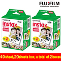 Genuine 40 Sheets White Edge Fuji Fujifilm Instax Mini 8 Film For 8 50s 7s 7 90 25 Share SP-1 Instant Camera Fast Free Shipping