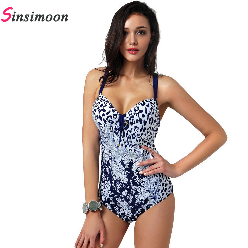 2018 Hot Women Swimsuit Sexy plus size Swimwear Women Patchwork Swimwear Swimming Beach Bathing Suit One piece swimsuit 81575 2017 plus size swimwear women swimming dress sexy large one piece swimsuit push up beach dress patchwork bathing suit