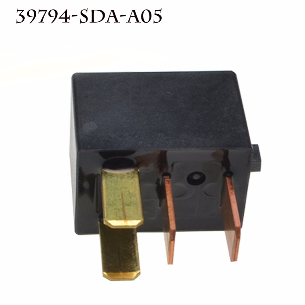 39794-SDA-A03 A/C Compressor Relay Power Relay Assembly For Acura TL Accord Civic Fuse Relay G8HL-H71 12VDC