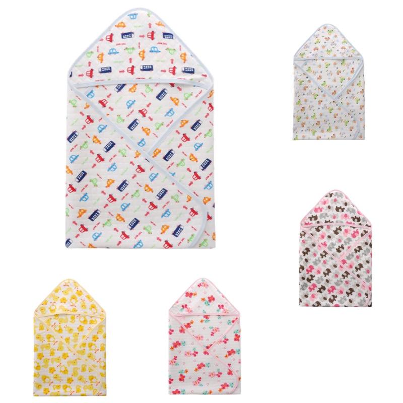 Baby Swaddles 100% Cotton Newborn Baby Blanket 80*76cm Spring Autumn Baby Wrap Envelope Swaddle Sleeping Bag Sleepsack