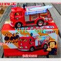 BOMBEIRO frete grátis SAM Caminhão de Brinquedo Caminhão de Bombeiros Carro Com Música + LED Brinquedo do Menino Brinquedo Educativo FB0151