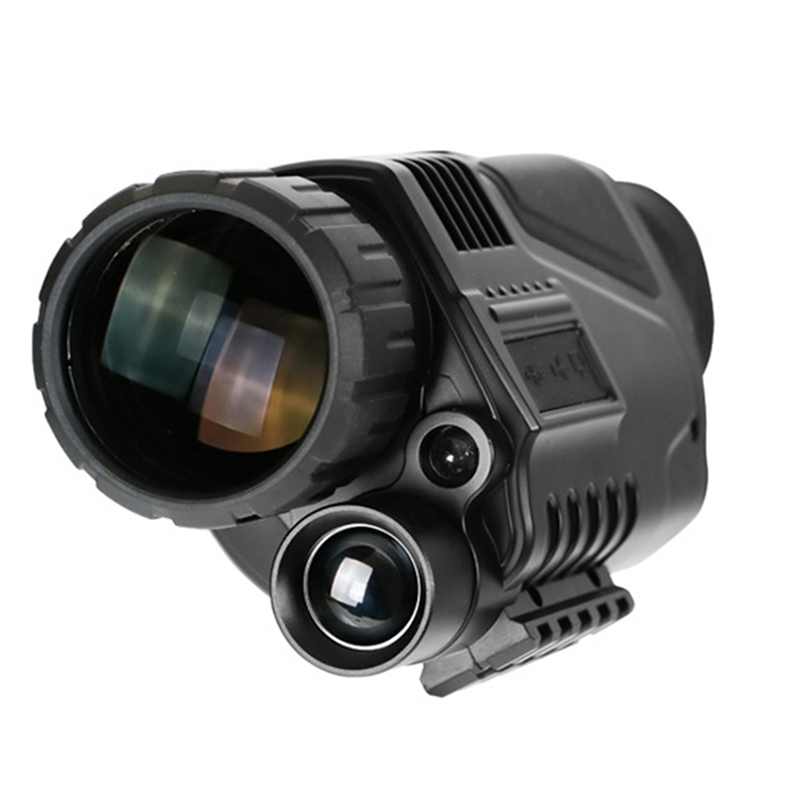5 X 40 Infrared Night Vision Monocular Military Tactical Digital Scope Hunting Telescope Long Range With Built-in Camera