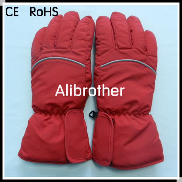 37V Lithium Battery Powered Heated Gloves For MotorcycleChina Mainland