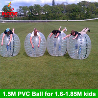 12pcs balls + 1 electric blower 1.5M PVC Inflatable Bubble Soccer Football Ball bubble ball bola de futebol