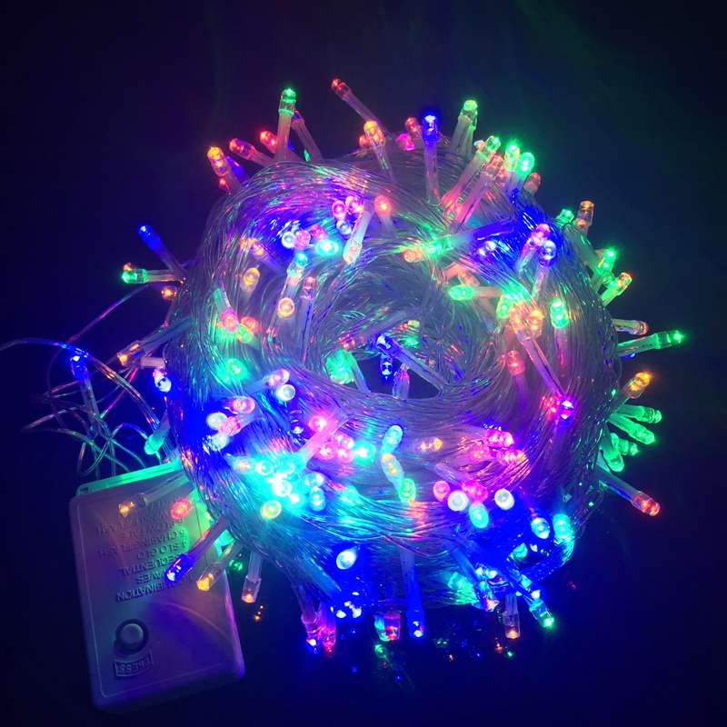 10m 20m 30m 50m 100m Outdoor Waterproof Led String Light For Christmas Tree Wedding Party Garland Decoration