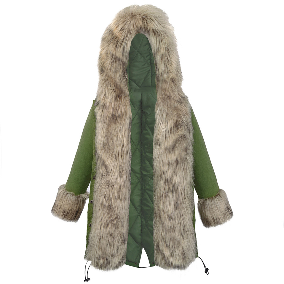95c076917 Pettigirl Winter Boys Jackets Army Green Warm Kids Cotton Coat With ...