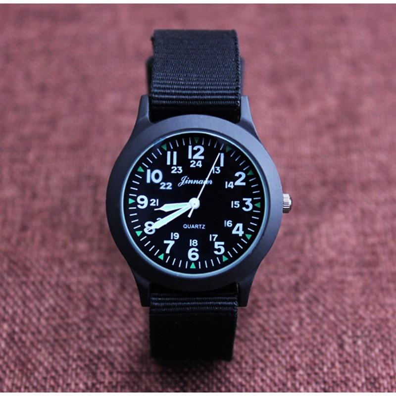 New Arrival Fashion Unisex Nylon Fabric Kids Children Watch Sport Thin Students Canvas Quartz Dress Wristwatch Casual Relogio