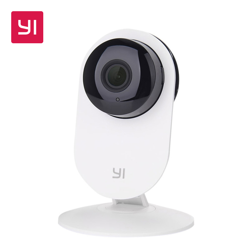 YI Home Camera 720P HD Video Monitor IP Wireless Network Surveillance Security Night Vision Alert Motion