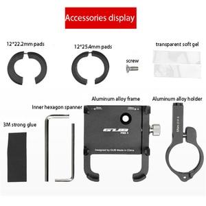 Image 5 - Bisiklet Bisiklet Moto Standı GPS Tutucu Standı Montaj Braketi 3.5 6.2 inç Gopro Akıllı Mobil Güç Banka Cep Telefonu gidon Klip