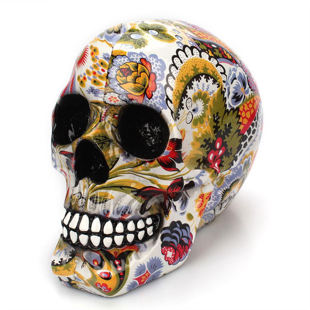 Calavera de resina de esqueleto humano 6