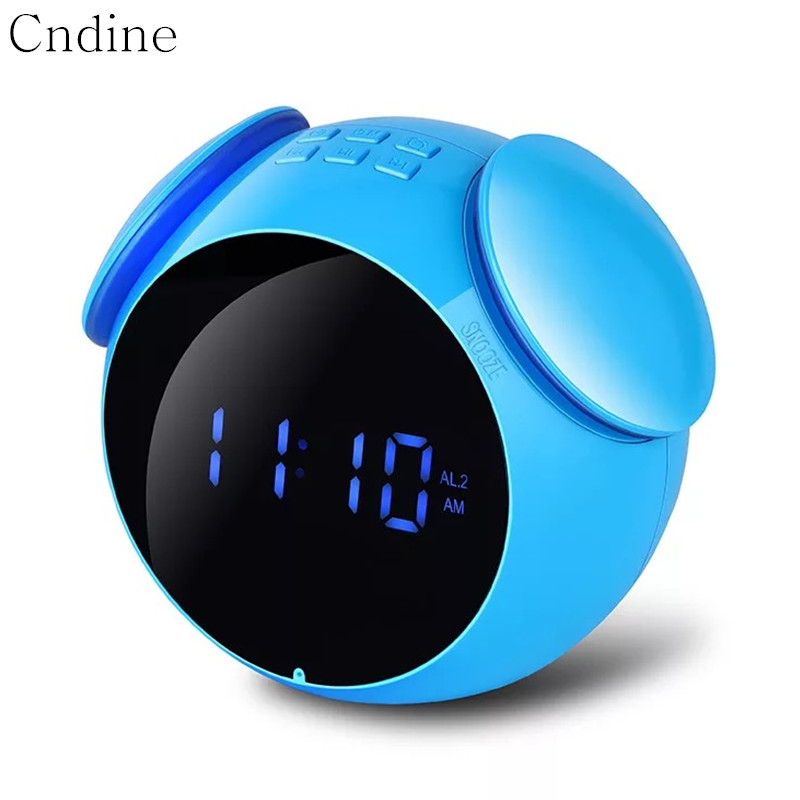 все цены на Wireless Speaker LED Alarm Clock Music Bluetooth Column Clock Snooze Multifunction Bluetooth Speaker Waterproof New Arrival