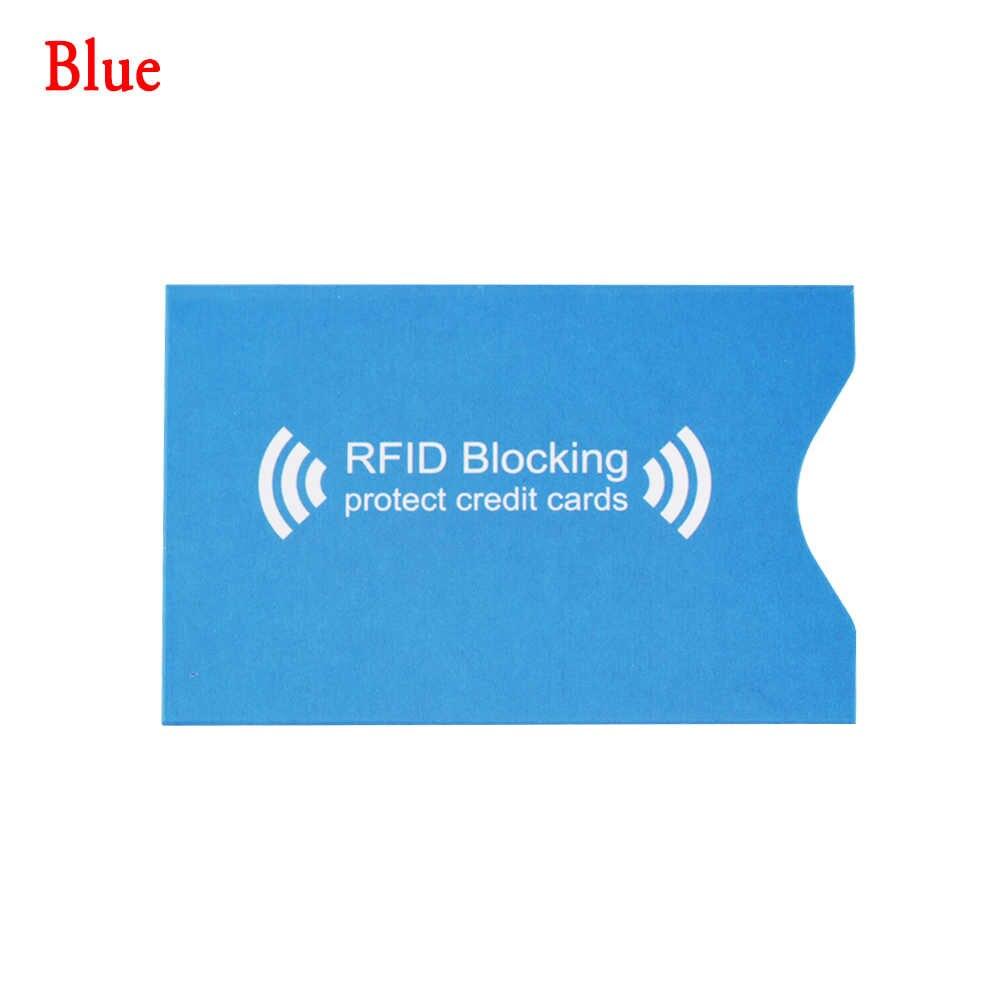 1PC Anti RFID Memblokir Aluminium Pemegang Kartu Bank Kartu Smart Perlindungan Perisai Anti Pencuri Kartu Dompet Kasus Melindungi Case cover