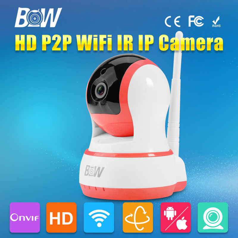 720P Wireless IP Camera Wifi IR-Cut Night Vision Pan Tilt Two Way Audio ONVIF Mobile View Video Surveillance Security Camera wireless 720p pan tilt wifi network home security cctv ip camera ir night vision webcam two way audio