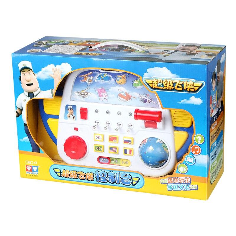 2017 ABS Super vleugels Control Centre met Vliegtuigen Actiefiguren Transformatie Speelgoed kinderen Kerstcadeaus-in Actie- & Speelgoedfiguren van Speelgoed & Hobbies op  Groep 2