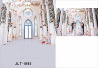 Wedding Background Palace Stage Photography Backdrops Festival Background Studio For Photo