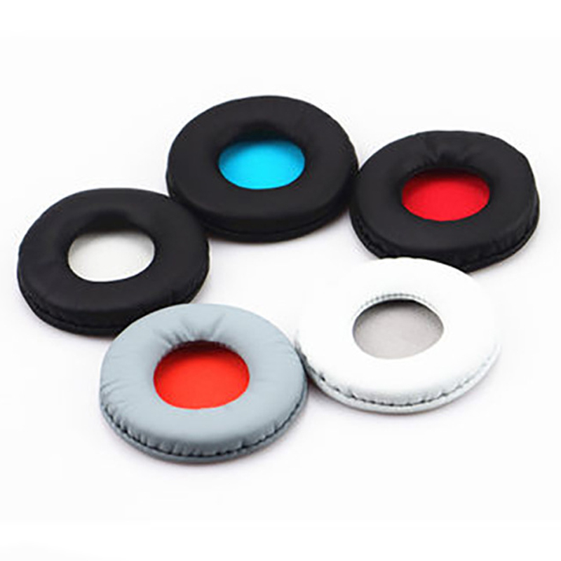 1 Pair Headphone Earpads Covers for <font><b>SONY</b></font> <font><b>MDR</b></font> ZX600 <font><b>ZX660</b></font> Headphone Cushion Pad Replacement Ear Pads Headphone image