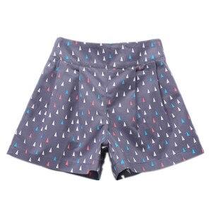 Image 3 - 4 a 14 anos crianças e adolescentes meninas verão impressão geométrica doce doce cor algodão casual shorts menina moda curto bottoms