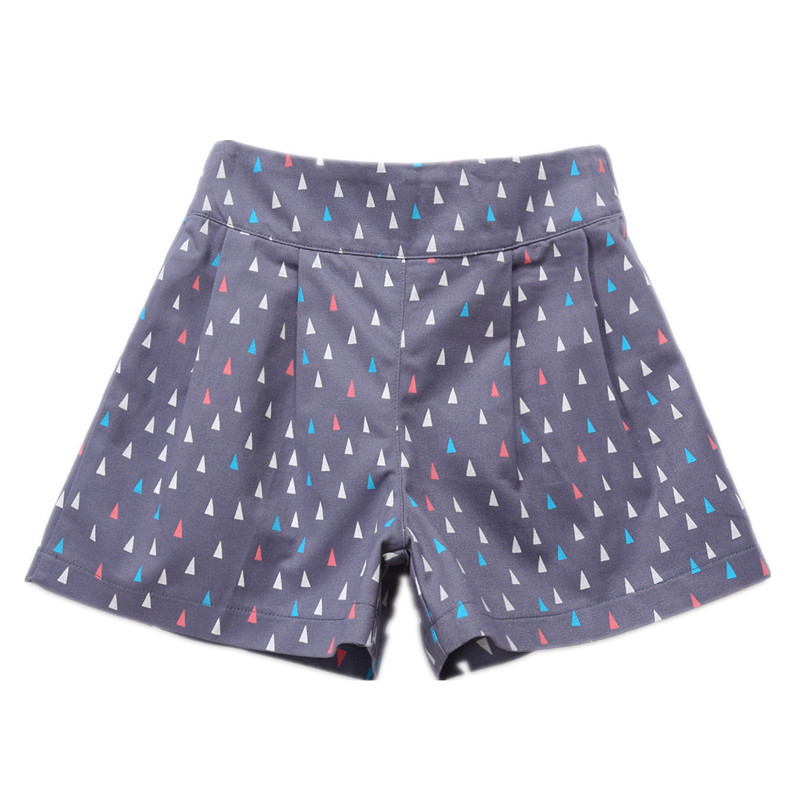 Image 3 - 4 to 14 years kids & teenager girls summer geometric print sweet candy color cotton casual shorts girl fashion short bottomsShorts   -