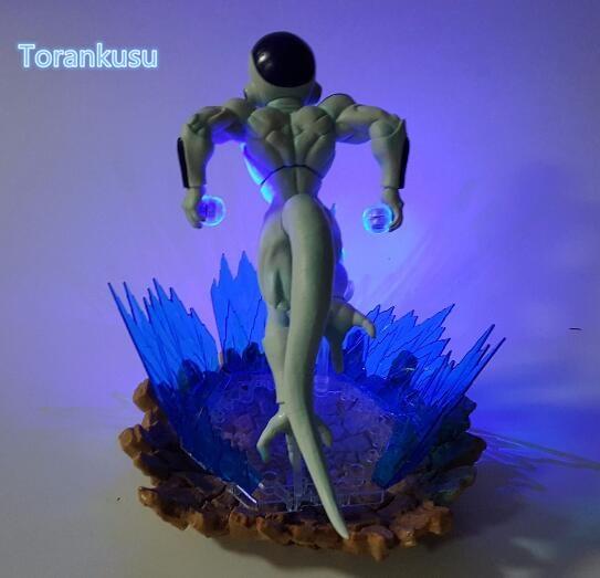 Image 3 - Dragon Ball Z Action Figure Freeza DIY Display Toy Dragonball Z Friza Esferas Del Dragon Freeza Toy DBZ+LED Light DIY10-in Action & Toy Figures from Toys & Hobbies on AliExpress