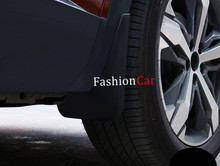 Para Peugeot 3008 GT 2017 4 unids/set guardabarros guardabarros antisalpicaduras flap mud guardabarros