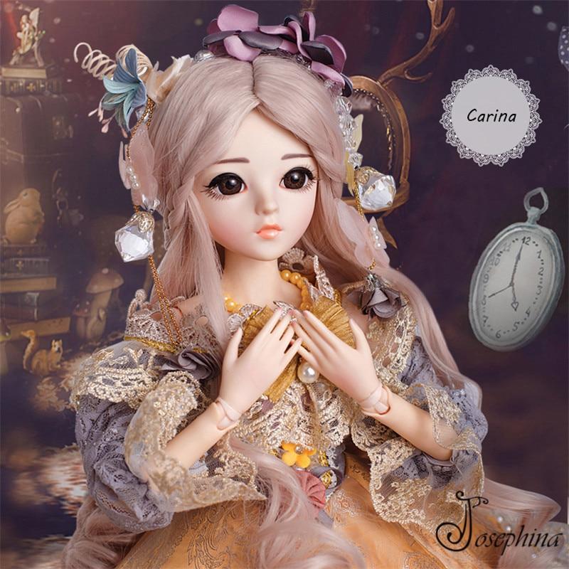 S6 Карина 1/3 жозефине DORIS SD BJD Куклы Новое поступление ретро придворная дама одет BJD куклы импортные смолы Средства ухода за кожей best подарок д