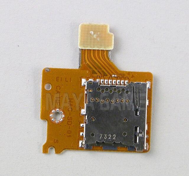 Original pour le commutateur NS TF SD carte fente prise de remplacement poignée contrôleur SD carte prise
