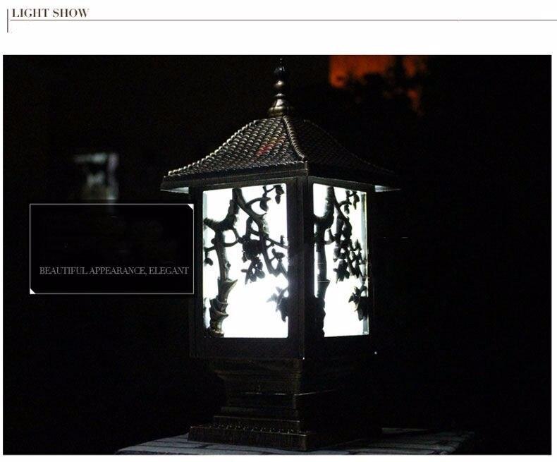 High Quality column light