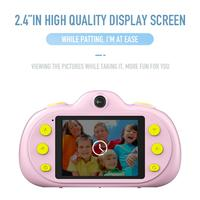 P8 Mini Children's Digital Camera 2.4 Inch HD 8MP DSLR Dual Lens Waterproof Camera Children For Home Travel Photo Use