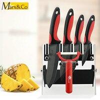 Ceramic Knife Holder Set 3 Paring 4 Utility 5 Slicing 6 Chef Knife Peeler Holder Ceramic