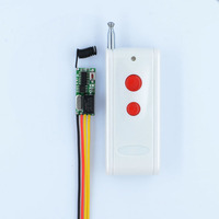 1000M RF Remote Control Switch System Mini Small Volume DC3 5V Receiver 315 433MHZ Waterproof Transmitter