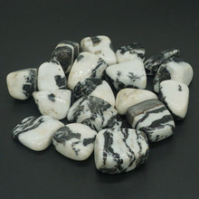 Zebra Jasper Tumbled Stone Irregular Polished Natural Rock Quartz Chakra Healing Decor Minerals Collection
