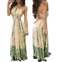 Beach Dress 2017 Summer Dress Women Fashion Sexy Bodycon Dress Slim Sleeveless Long Evening Party Dress